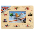 Puzzle mozaic Disney de lemn cu pins Disney, Planes Avioane