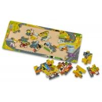 Puzzle mozaic din lemn Cars, Disney