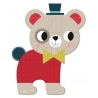 Mini puzzle, animalute, 12 piese - Janod