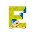 Litera E, de lemn, Janod
