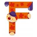 Litera F, de lemn, Janod