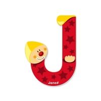 Litera J, de lemn, Janod