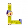 Litera L, de lemn, Janod