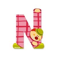 Litera N, de lemn, Janod
