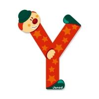 Litera Y, de lemn, Janod