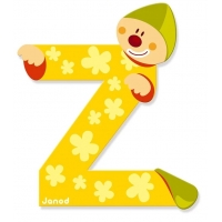 Litera Z, de lemn, Janod