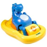 Jucarie de baie Tomy, Hipopotamul cu pedale