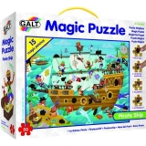 Magic Puzzle Galt - Corabia piratilor (50 piese)