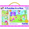 Set 4 puzzle-uri Galt - Zane (12, 16, 20 24 piese)