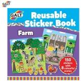 Carte cu stickere reutilizabile Galt - Ferma