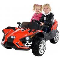 Masinuta Electrica GT Super Speed JC888, 4 x 4,2 locuri, Rosie