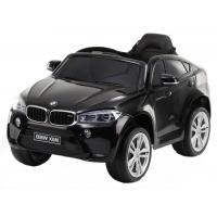 Masinuta electrica cu roti din cauciuc BMW X6M Neagra