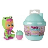 Bebelus Mini Cry Babies Magic Tears in Casuta Surpriza , Albastra