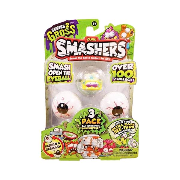 Set 3 figurine Zuru Smashers - Tiss-Ooz
