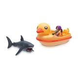 Figurina cu accesorii Roblox - Sharkbite : Duck Boat