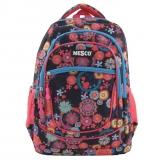 Ghiozdan Fashion Mesco 16 ''- Urban , Flowers Pink