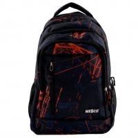 Ghiozdan Fashion Mesco 16 ''- Urban , Black & Orange
