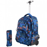 Trolley fashion Mesco- Blue Urban + Penar