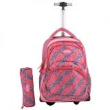 Troler fashion Mesco -Pink Bubbles + Penar