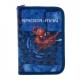 """Ghiozdan tip Rucsac pentru Adolescenti-Spiderman Albastru 14"""" + Penar"""