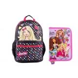 "Pachet Ghiozdan Impermeabil 16"" Barbie+ Penar"