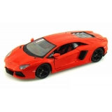 Vehicul diecast 1:24 Special Edition ,Maisto - Lamborghini Aventador LP700-4 Hard Top Orange