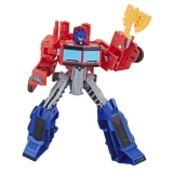 Figurina Transformers - Cyberverse Action Attackers Warrior, Optimus Prime