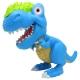 Figurina Dinozaur Junior T-Rex Cu Lumini Si Sunete - Bleu