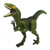 Figurina interactiva Dinozaur cu lumini si sunete- marime medie , Raptor