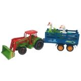 Tractor cu cupa , Remorca si accesorii