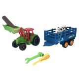 Tractor cu cupa si Remorca cu accesorii