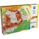 Pachet Harta Interactiva a Lumii Momki - In romana si engleza plus  Puzzle  cu harti 100 de piese - Harta Romaniei