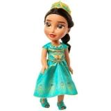 Papusa Jasmine cu rochie turcoaz, 38 cm