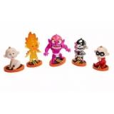 Set 5 Figurine Jack-Jack -The Incredibles 2