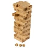 Turn instabil din lemn cu cifre- Momki