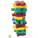 Turn instabil din lemn colorat- Momki
