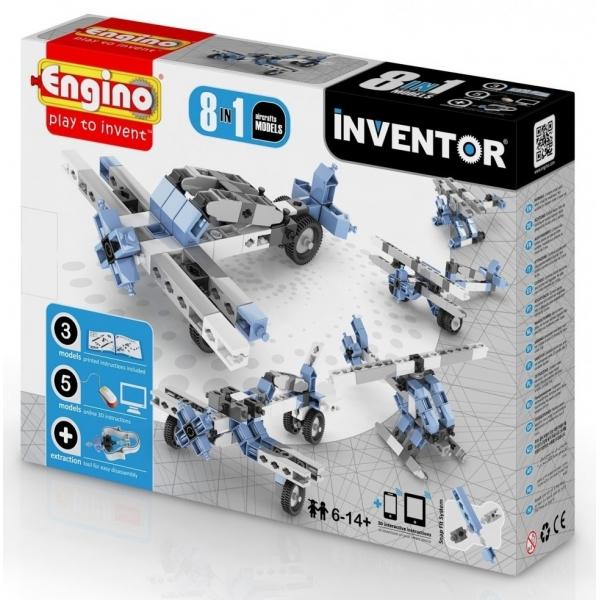 Set de constructie-Engino Inventor 8 in 1 Aircrafts
