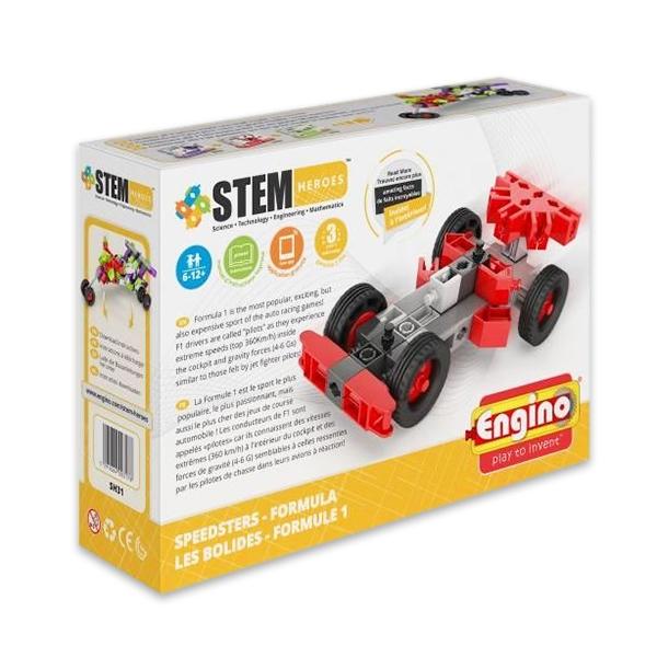 Set de constructie Engino -Stem Heroes -Speedsters Formula 1