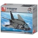 Set de constructie Sluban – Avion de atac , 209 piese