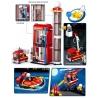 Set de constructie – Statie de pompieri, 467 piese