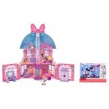 IMC Casuta Minnie si ajutoarele abile - Casa lui minie + Puzzle 24 piese ,Bonus Minnie