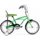 Bicicleta Pegas cu roti ajutatoare - Mezin verde neon