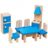 Set mobilier din lemn pentru papusi - Bucatarie