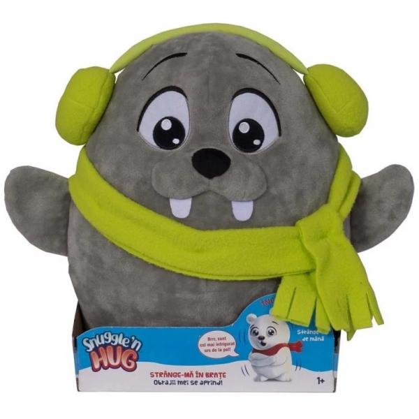 Jucarie de plus interactiva Snuggle and Hug - Morsa