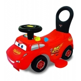 Masinuta Disney Cars – Fulger Mqueen 3 in 1 Ride-On cu sunete si lumini