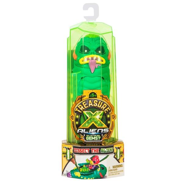 Figurina Treasure X Alien Hunters, Verde