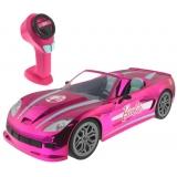 Masina cu telecomanda pentru papusi Barbie Dream Car, 40 cm