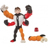 Figurina Ben 10 upgrade – Eroii Glitch: Ben – Patru Brate – Rath