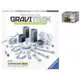 Set accesorii GraviTrax Ravensburger , Piste suplimentare cu Set de constructie Sluban – Soldat , 24 piese