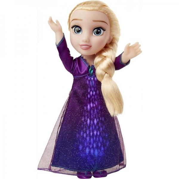 Papusa Elsa Cu Functii din Frozen 2 (limba romana)